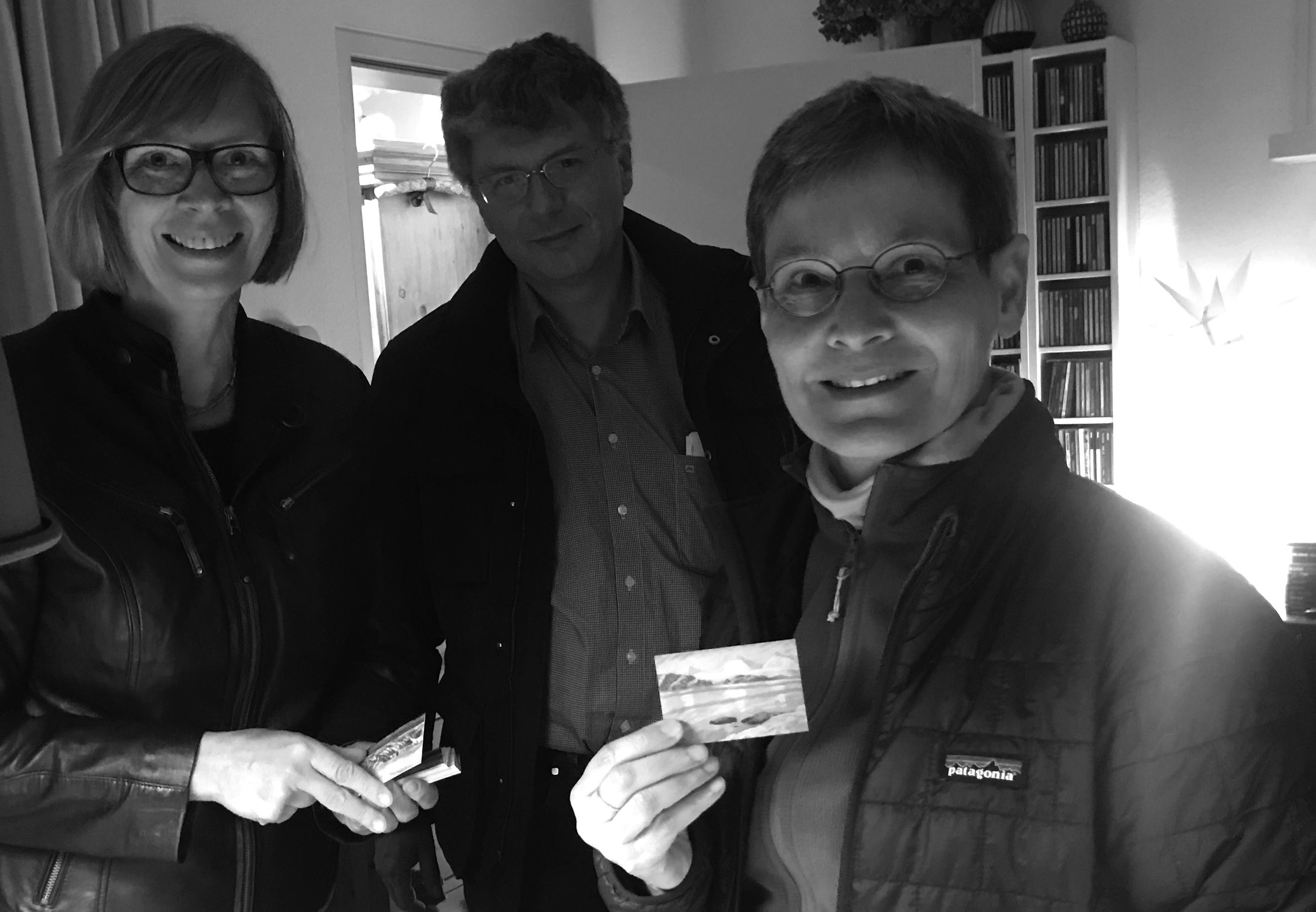 Susanne Crewell, Manfred Wendisch, Annette Rinke am 10.04.2019 in Wien